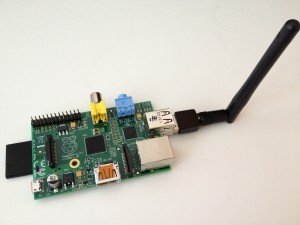 Raspberry Pi with wifi adapter