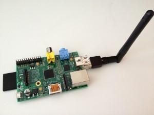 Raspberry Pi with wifi adapter